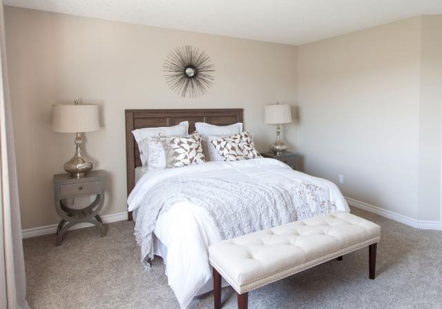 Hampton Model - Master Bedroom