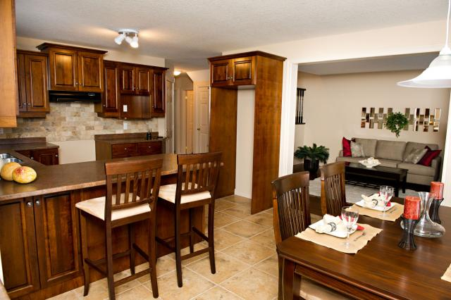 Model Home 1 Kitchen Dining